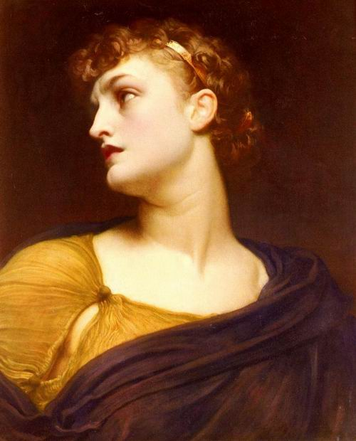 Ancient Greece Mythical Character: Antigone, the Daughter of King Oedipus