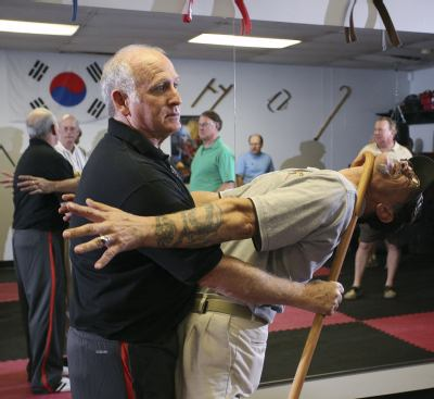 How to self defense for seniors