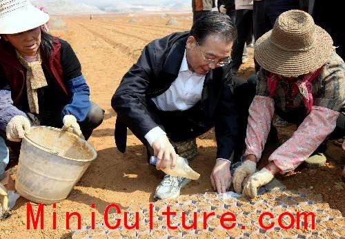 Premier Wen Jiabao Moves Me to Tears During Drought Inpection