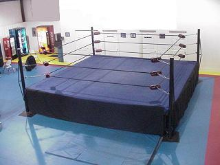 how to make a wrestling ring