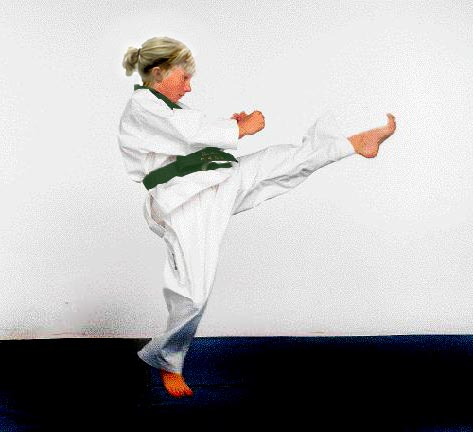 6 Steps to Do Kung Fu Front Kick