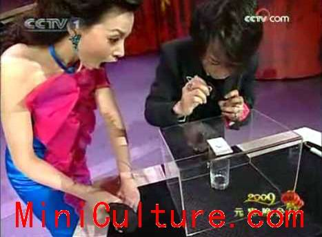 CCTV Presenter Dong Qing Shill Gate Scandal with Magician Liu Qian