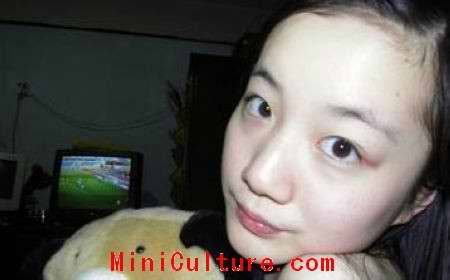China Tsinghua University Girl Hu Ling Picture