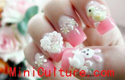 Creative and unique cool nail design pictures from Japan