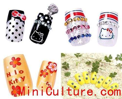 Cute Chinese Nail Designs Picture