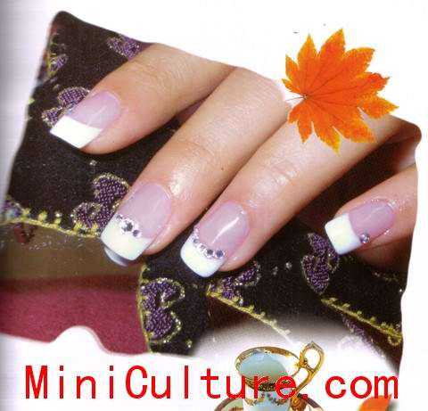 Pretty Chinese Nail Designs for Girls