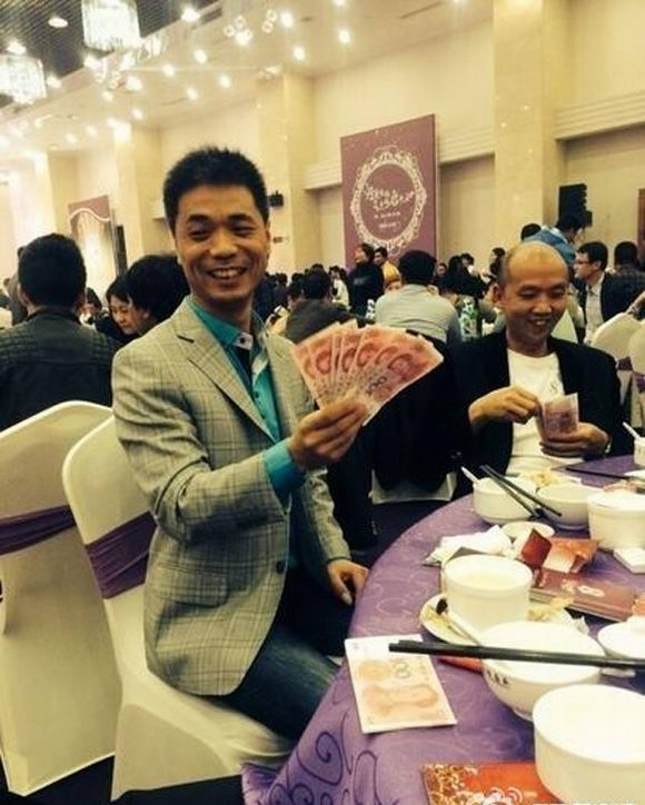 Chinese Dishes Made of Money! See How Rich Chinese Flaunts Wealth on His Wedding Banquet