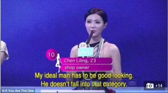 Ladies on China's Top Dating Shows Become More Critical; Male Candidates Sucks and Lack Maturity